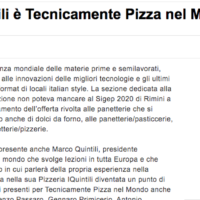 Close Up Tecnicamente Pizza nel Mondo al Sigep